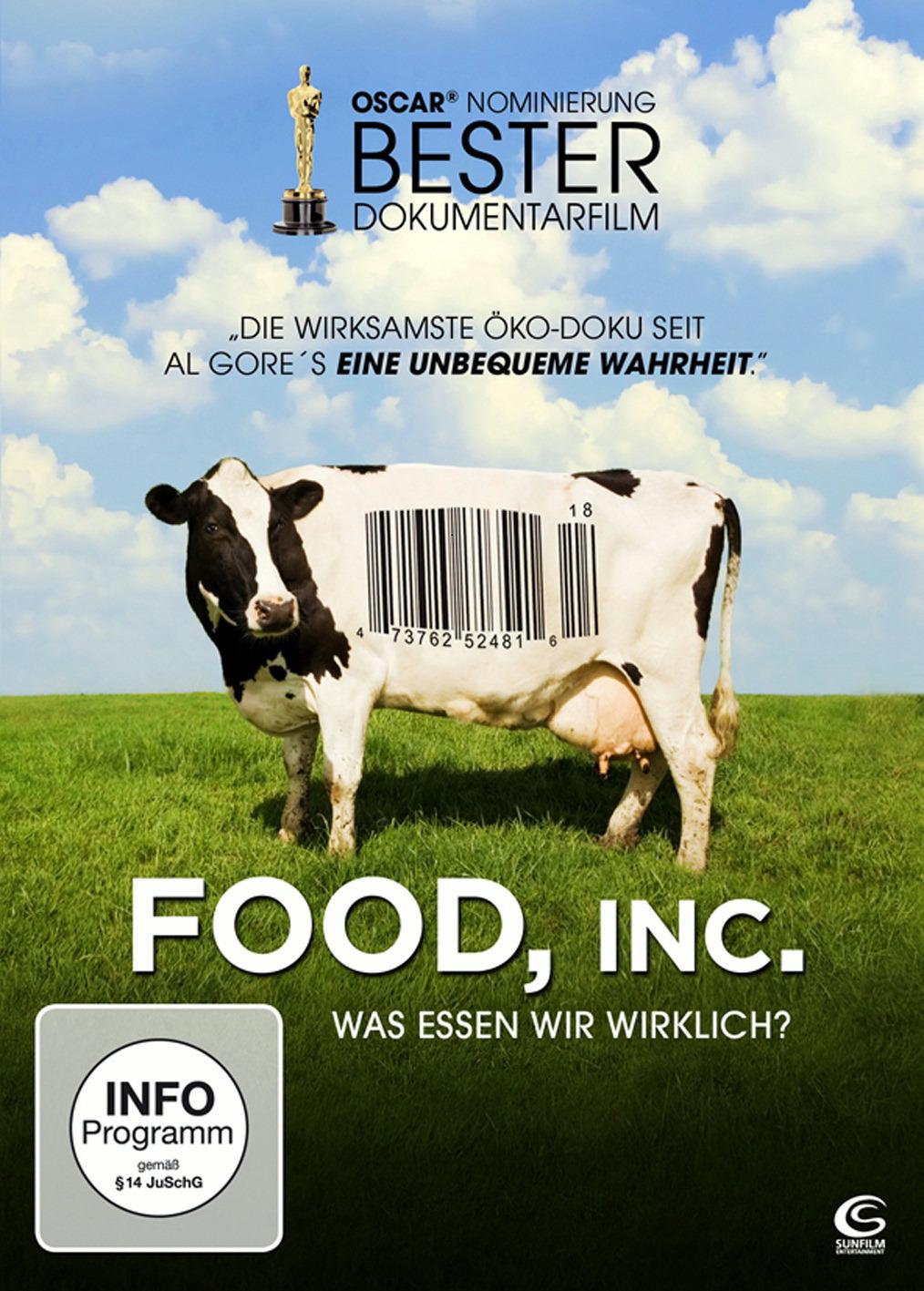 Food Inc. - Was essen wir wirklich? Poster