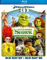 Für immer Shrek - Das große Finale (Blu-ray 3D, + Blu-ray 2D) Poster