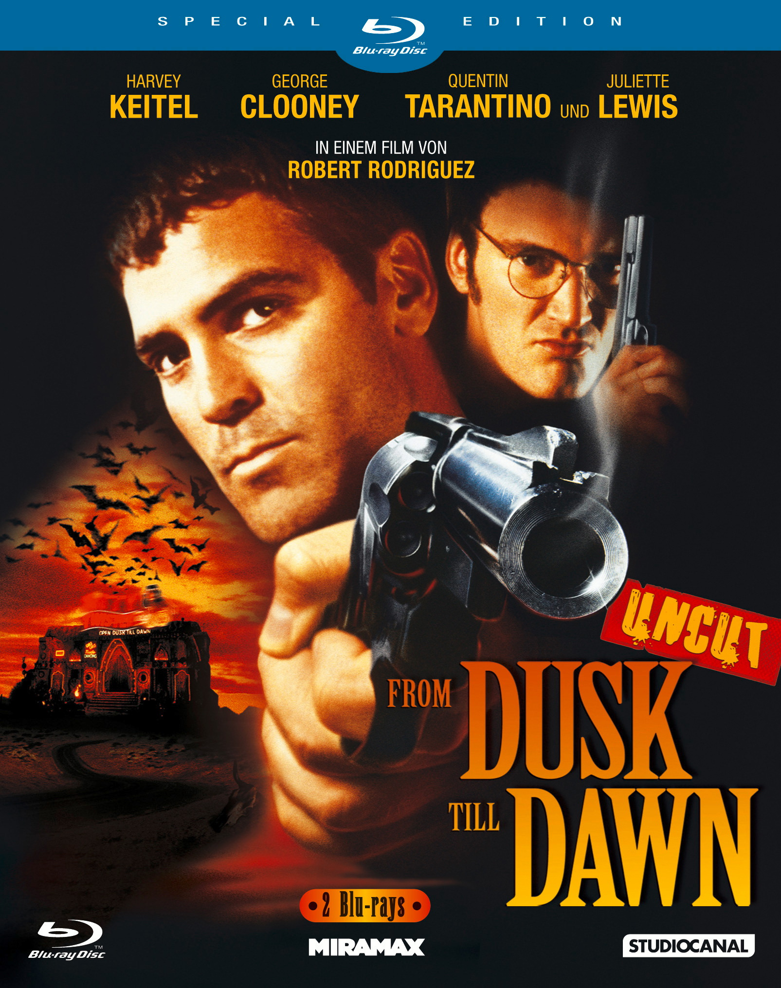 From Dusk Till Dawn (Special Edition, 2 Discs, Uncut) Poster