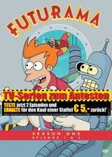 Futurama - Season One, Episode 1 & 2 Poster