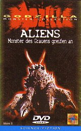 Godzilla - Aliens: Monster des Grauens greifen an Poster