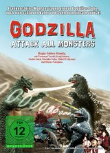 Godzilla - Attack All Monsters Poster