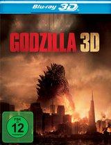 Godzilla (Blu-ray 3D, 2 Discs) Poster