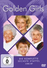 Golden Girls - Die komplette sechste Staffel (3 DVDs) Poster