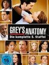 Grey's Anatomy: Die jungen Ärzte - Die komplette 5. Staffel (7 Discs) Poster