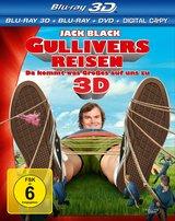Gullivers Reisen - Da kommt was Großes auf uns zu (Blu-ray 3D, Blu-ray 2D, + DVD, inkl. Digital Copy) Poster