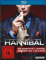 Hannibal - Die komplette 1. Staffel (3 Discs, Uncut) Poster