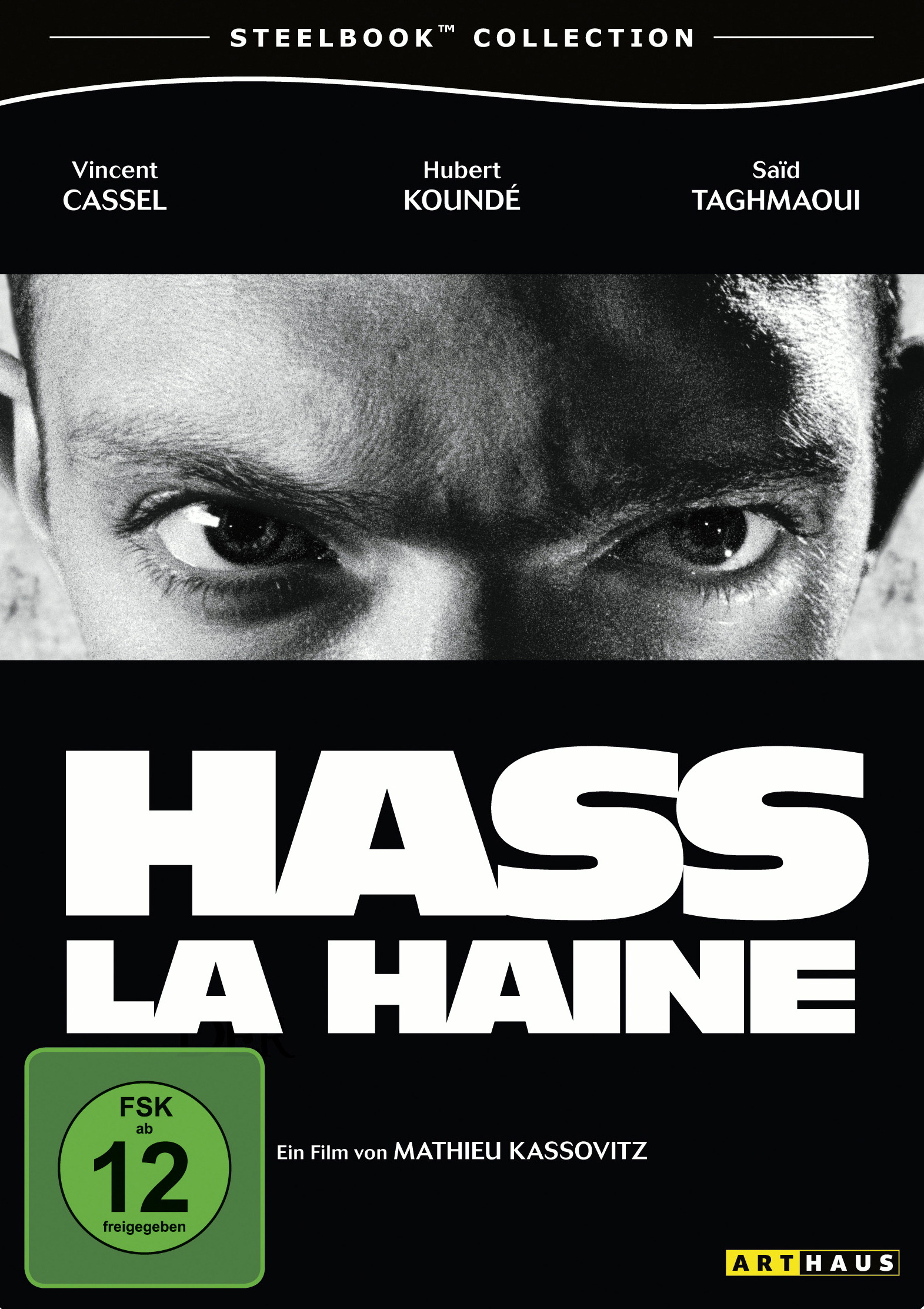 Hass - La Haine (Steelbook Collection) Poster