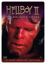 Hellboy II - Die goldene Armee (2 DVDs, Steelbook) Poster