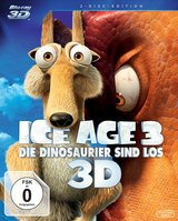 Ice Age 3 - Die Dinosaurier sind los (Blu-ray 3D, + Blu-ray 2D) Poster