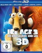 Ice Age 3 - Die Dinosaurier sind los (Blu-ray 3D, Blu-ray 2D, + DVD, inkl. Digital Copy) Poster