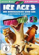 Ice Age 3 - Die Dinosaurier sind los (Limitierte Auflage, 3D, 2 Discs) Poster