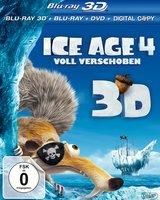 Ice Age 4 - Voll verschoben (Blu-ray 3D, Blu-ray 2D, + DVD, inkl. Digital Copy) Poster