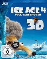 Ice Age 4 - Voll verschoben (Blu-ray 3D, + Blu-ray 2D) Poster