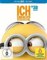 Ich - Einfach unverbesserlich 2 (Blu-ray 3D, + Blu-ray 2D, Steelbook) Poster