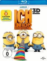 Ich - Einfach unverbesserlich 2 (Blu-ray 3D, + Blu-Ray 2D) Poster