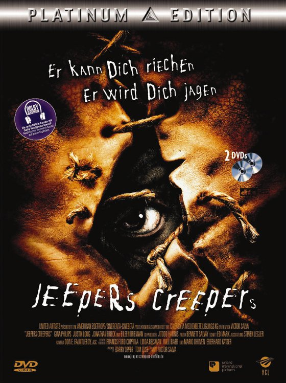 Jeepers Creepers (Platinum Edition) Kaufvideo-Cover