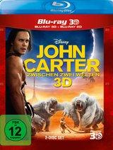 John Carter - Zwischen zwei Welten (Blu-ray 3D, + Blu-ray 2D) Poster