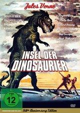 Jules Verne - Insel der Dinosaurier Poster