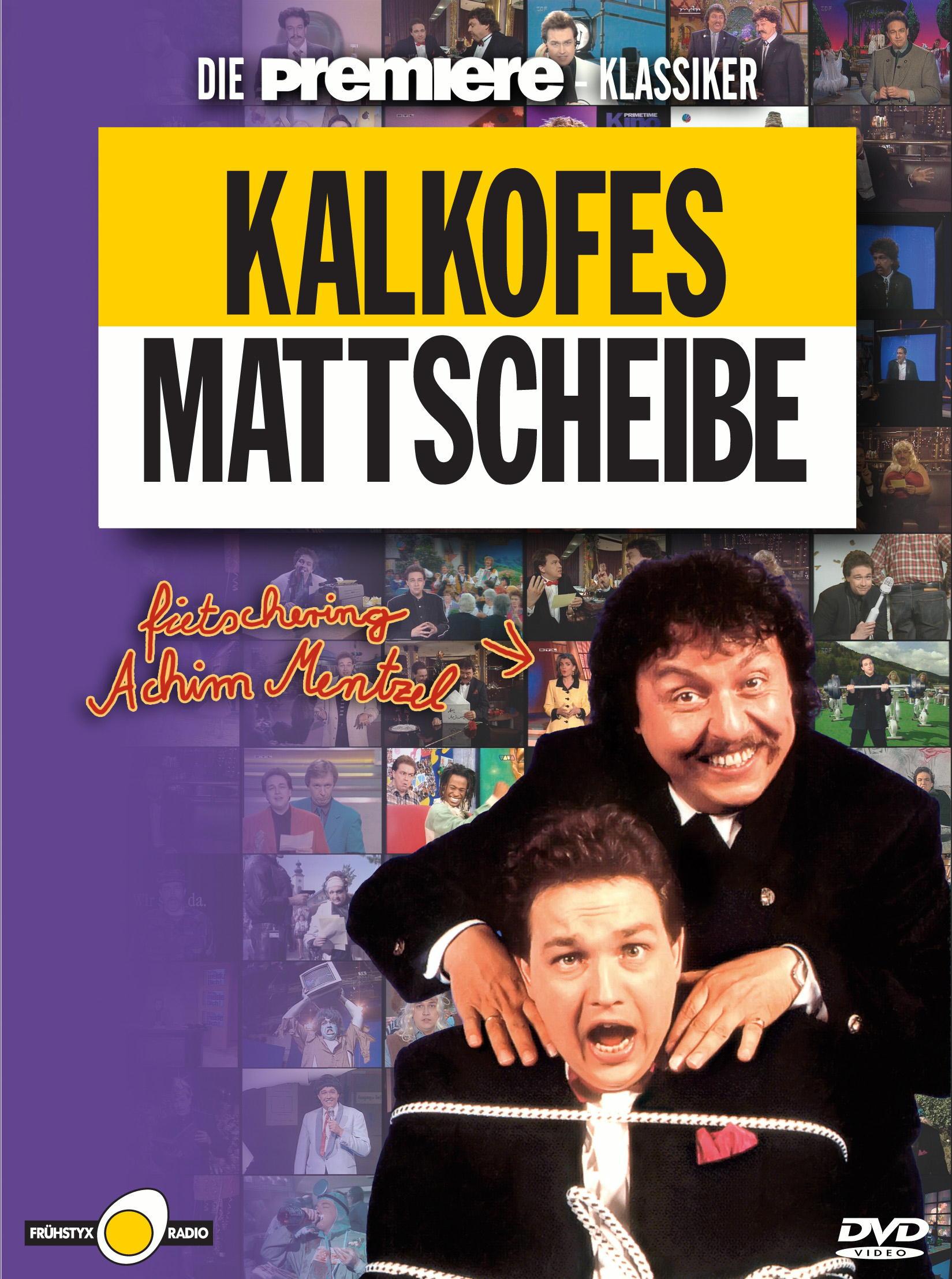 Kalkofes Mattscheibe fietschering Achim Mentzel (4 DVDs) Poster