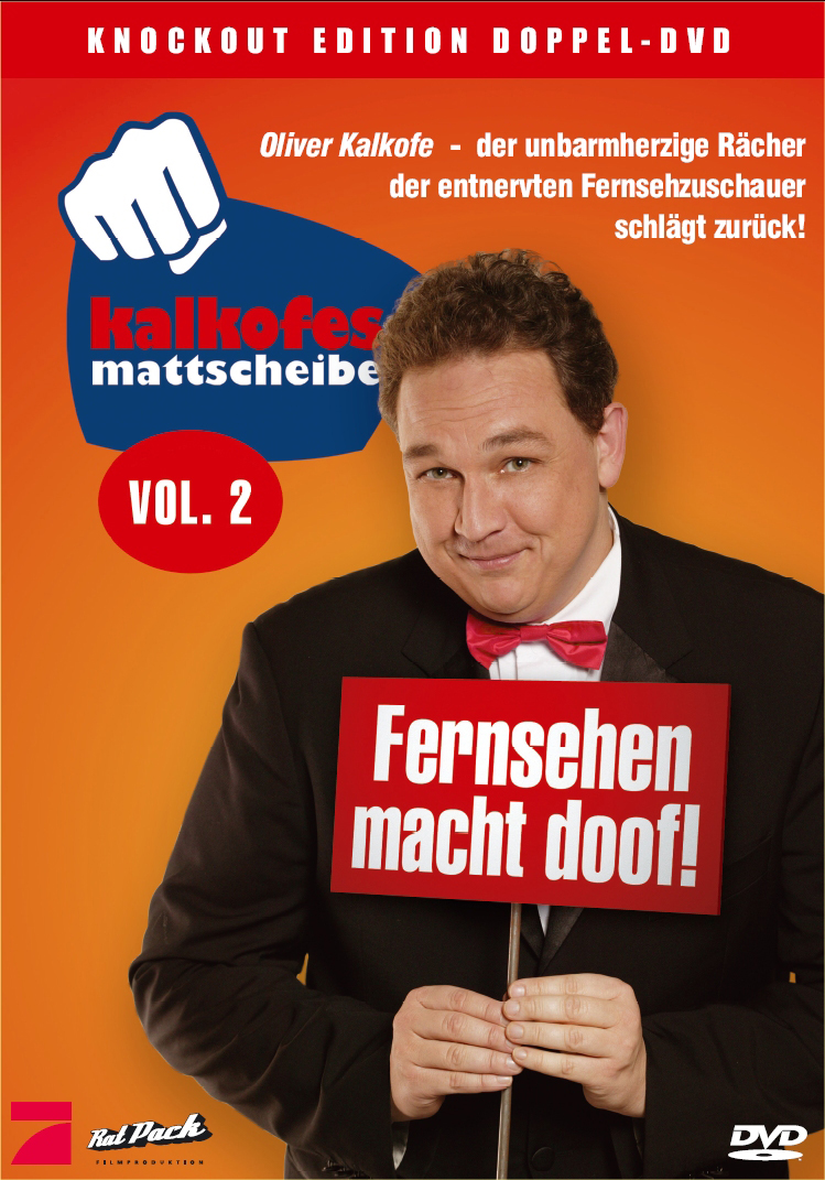 Kalkofes Mattscheibe Vol. 2 (2 DVDs) Poster
