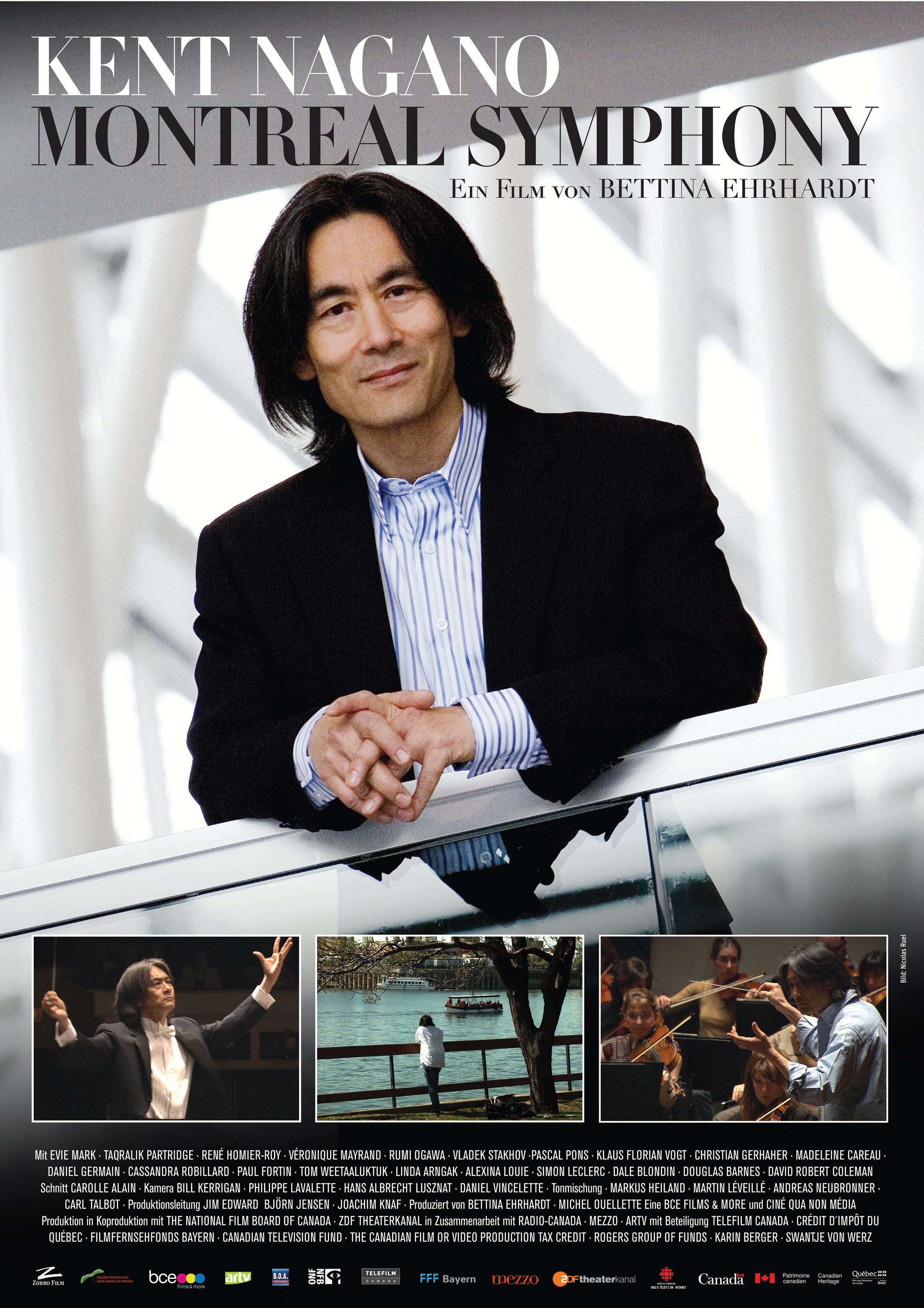 Kent Nagano - Montréal Symphony (OmU) Poster