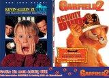 Kevin - Allein zu Haus / Garfield 2: Activity DVD Poster