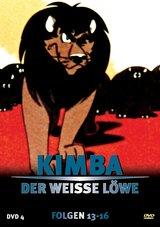 Kimba, der weiße Löwe - DVD 4 Poster