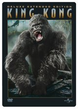 King Kong (Deluxe Extended Edition, 3 DVDs im Steelbook) Poster
