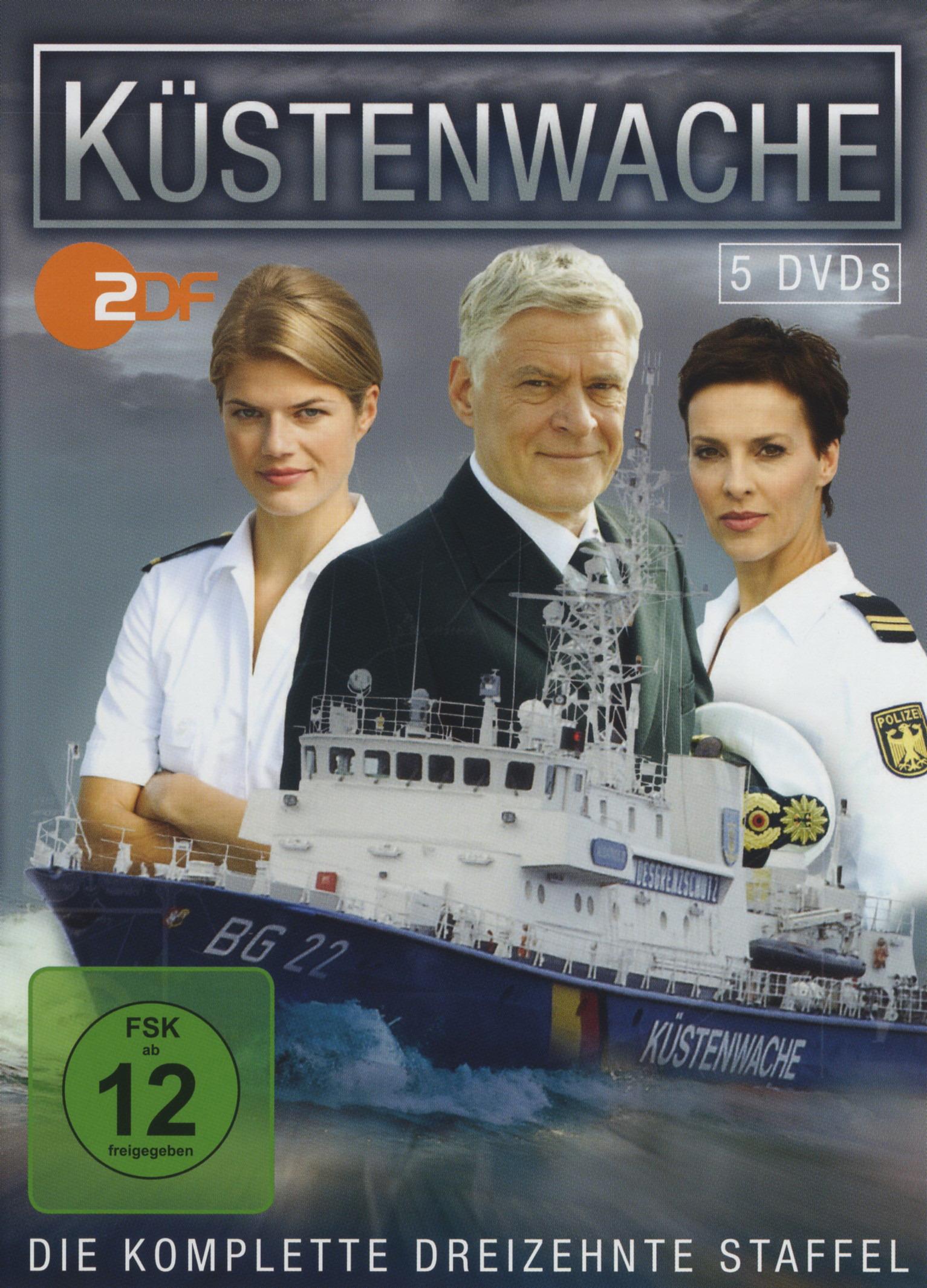 Küstenwache - Die komplette dreizehnte Staffel (5 Discs) Poster