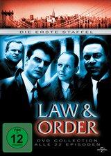 Law & Order - Die erste Staffel (6 Discs) Poster