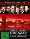 Law & Order: New York - Special Victims, Season One, Part One (3 Discs) Poster