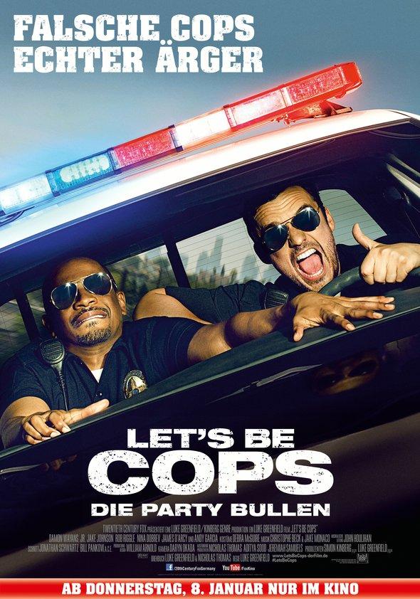 Let's Be Cops - Die Party Bullen Poster