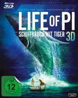 Life of Pi - Schiffbruch mit Tiger (Blu-ray 3D, + Blu-ray 2D) Poster