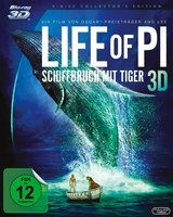 Life of Pi - Schiffbruch mit Tiger (Blu-ray 3D, + Blu-ray 2D, + DVD inkl. Digital Copy) Poster
