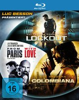 Lockout / Colombiana / From Paris with Love (3 Discs) Poster