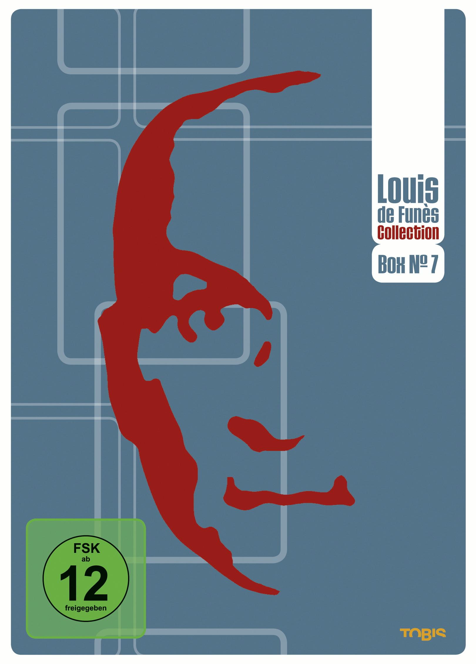 Louis de Funès DVD Collection Box No. 7 (3 Discs) Poster