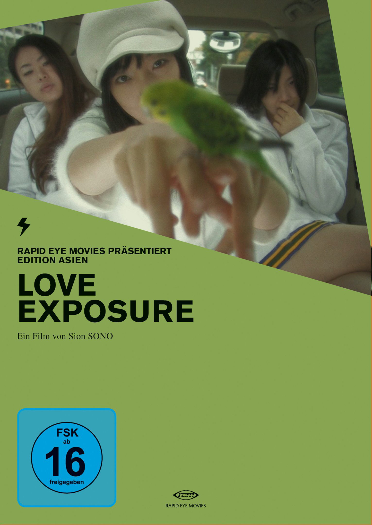Love Exposure (2 DVDs, OmU) Poster