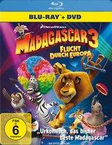 Madagascar 3: Flucht durch Europa (+ DVD, 2 Discs) Poster