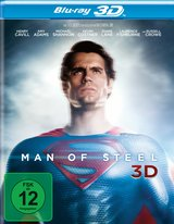 Man of Steel (Blu-ray 3D, 2 Discs) Poster