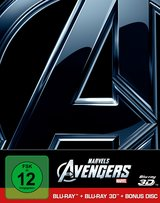 Marvel's The Avengers (Blu-ray 3D, + Blu-ray 2D, + Bonus-Disc, Limited Steelbook Edition) Poster