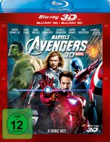 Marvel's The Avengers (Blu-ray 3D, + Blu-ray 2D) Poster