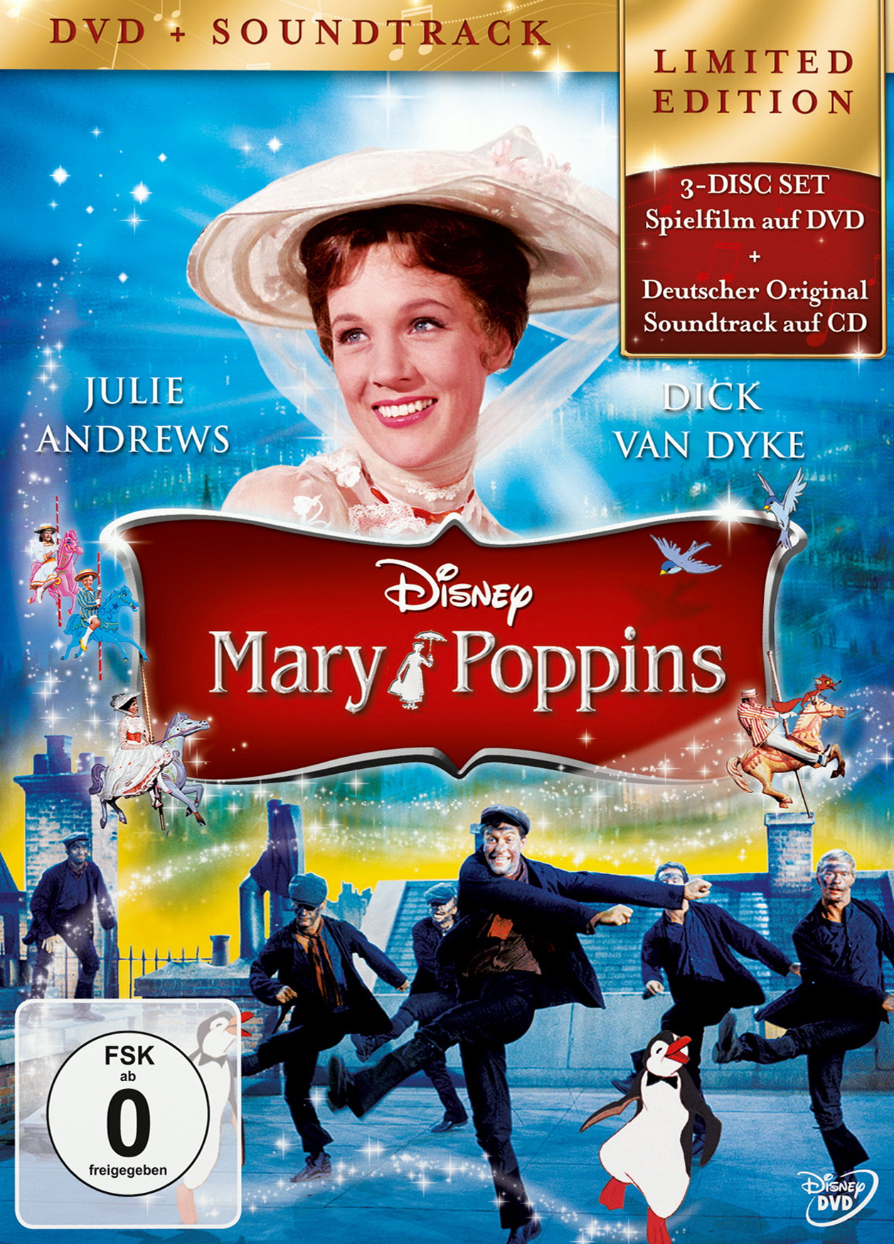 Mary Poppins (2 Discs, + Audio-CD) Poster