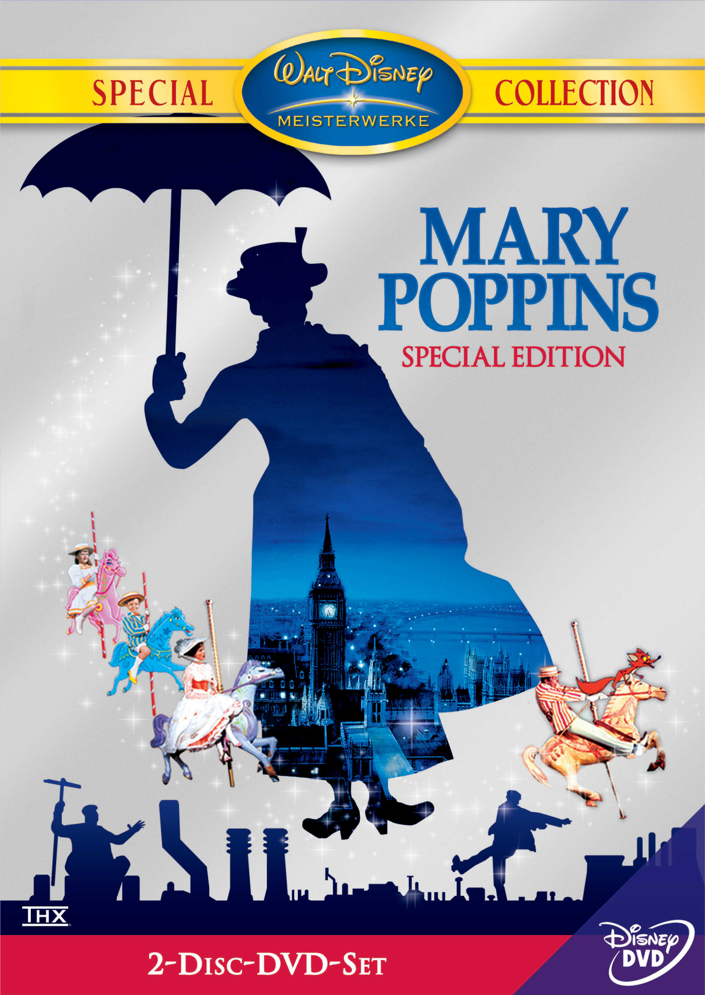 Mary Poppins (Special Edition, 2 DVDs) Poster