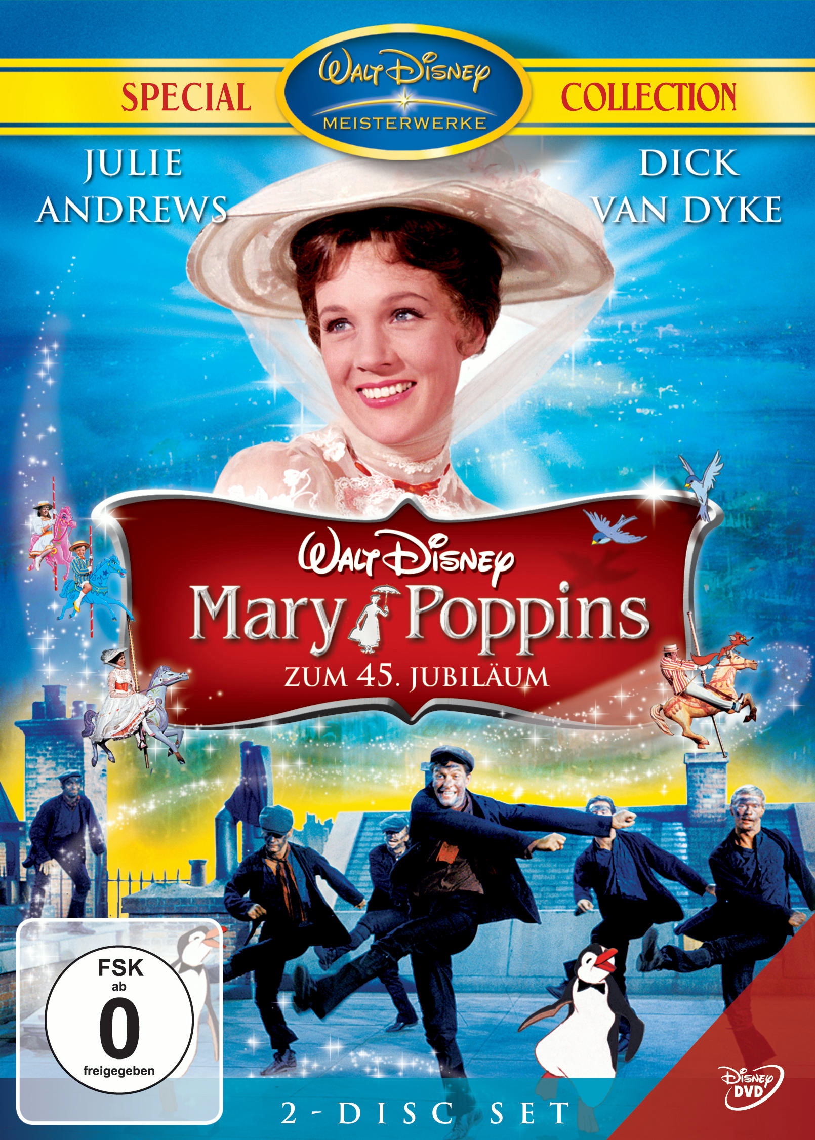 Mary Poppins - Zum 45. Jubiläum (Jubiläumsedition, 2 DVDs) Poster