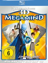Megamind (Blu-ray 3D, + Blu-ray 2D) Poster