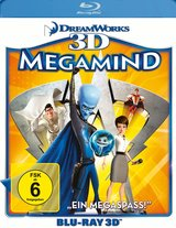 Megamind (Blu-ray 3D) Poster
