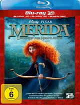 Merida - Legende der Highlands (Blu-ray 3D, + Blu-ray 2D, + Bonus-Disc) Poster