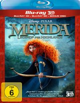 Merida - Legende der Highlands (Blu-ray 3D, + Blu-ray 2D) Poster