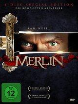 Merlin - Die komplette Serie (4 Discs) Poster
